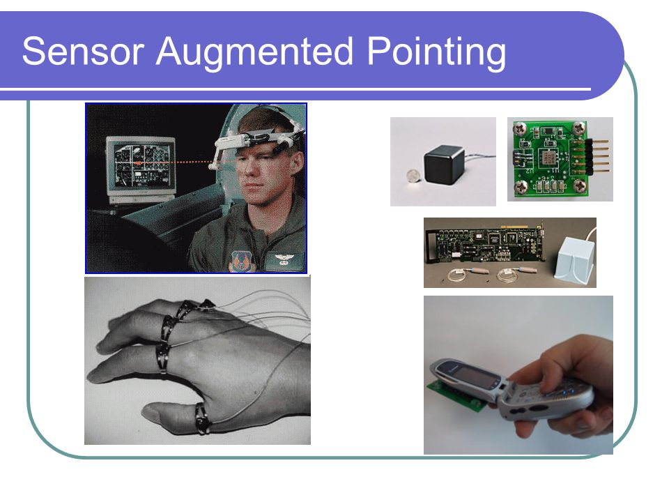Sensor Augmented Pointing