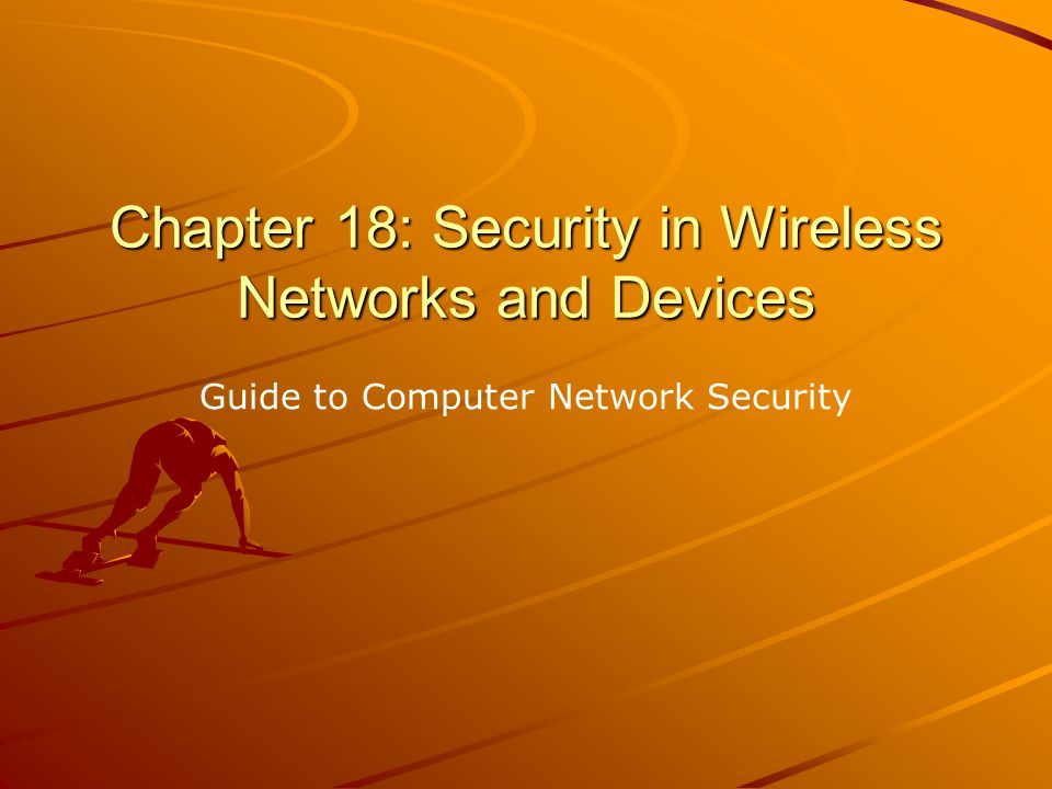 Kizza - Guide to Computer Network Security 2 Wireless technology is a new technology that started in the early 1970s.
