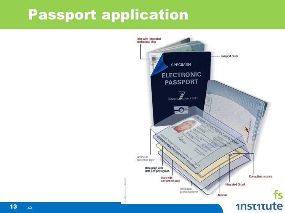 IIS 13 Passport application