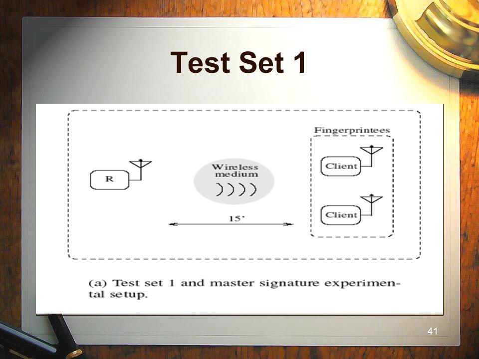 41 Test Set 1