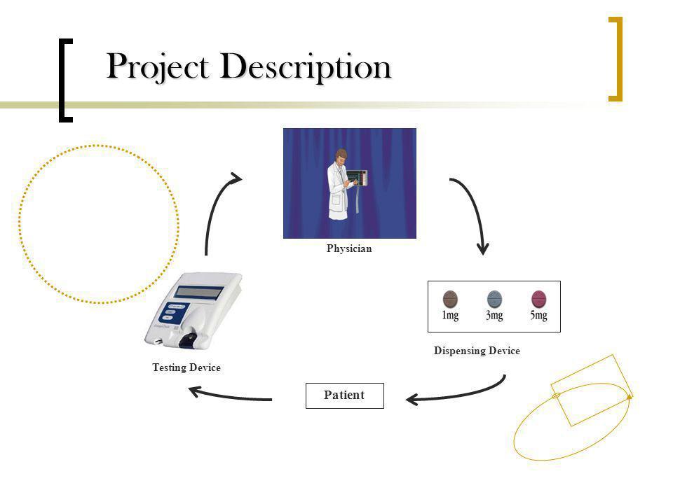 Dispensing Device Testing Device Physician Patient Project Description