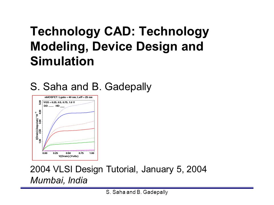 Mumbai, IndiaSamar Saha82 Carrier Transport Models To solve for f(r,p,t) - Boltzmann Transport Equation (BTE): –six dimensions three in position space three in momentum space –solution techniques: MC simulation spherical harmonics scattering matrix and so on.