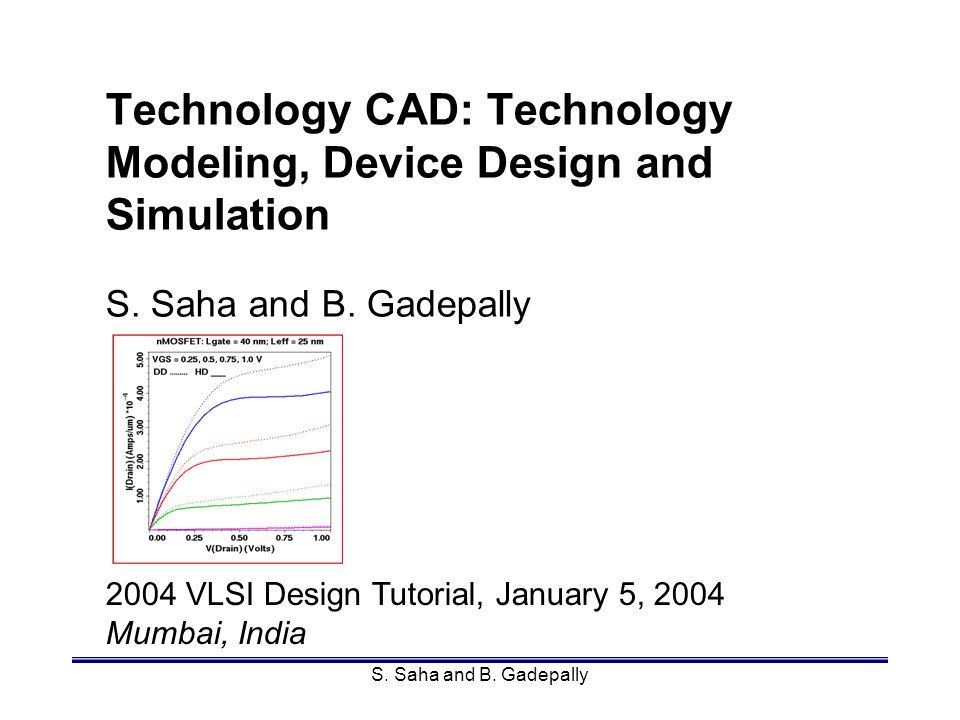 Mumbai, IndiaSamar Saha142 MOSFETs 1D Process Model Calibration p-substrate p-welln-well n+ PMOS n+p+ STI NMOS A B CF E D Cross-section for short loop experiments: A / D NMOS / PMOS channel B / E NMOS / PMOS SDE C / F NMOS / PMOS S/D.