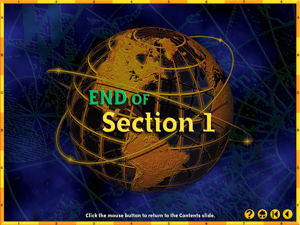 Section 1-35 Close Pair up with a classmate and compose sentences that explain the significance of the Places to Locate