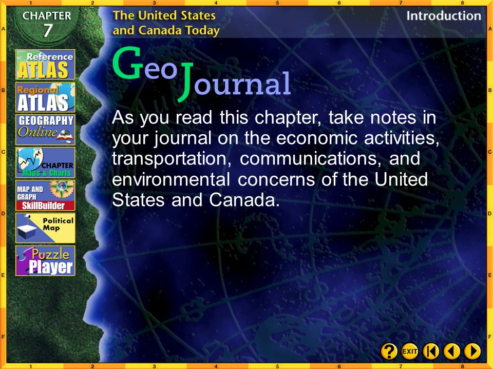 Section 2-23 Close Read the quotation from A Geographic View on page 165 of your textbook.