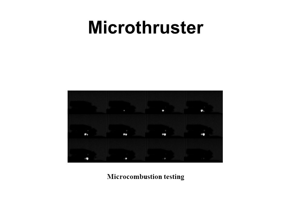 Microcombustion testing