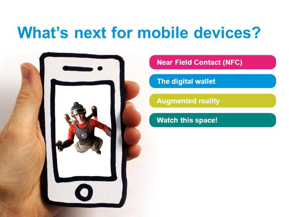 www.sophos.com/loveyourphone Near Field Contact (NFC) The digital wallet Augmented reality Watch this space! Near Field Contact (NFC) The digital wall