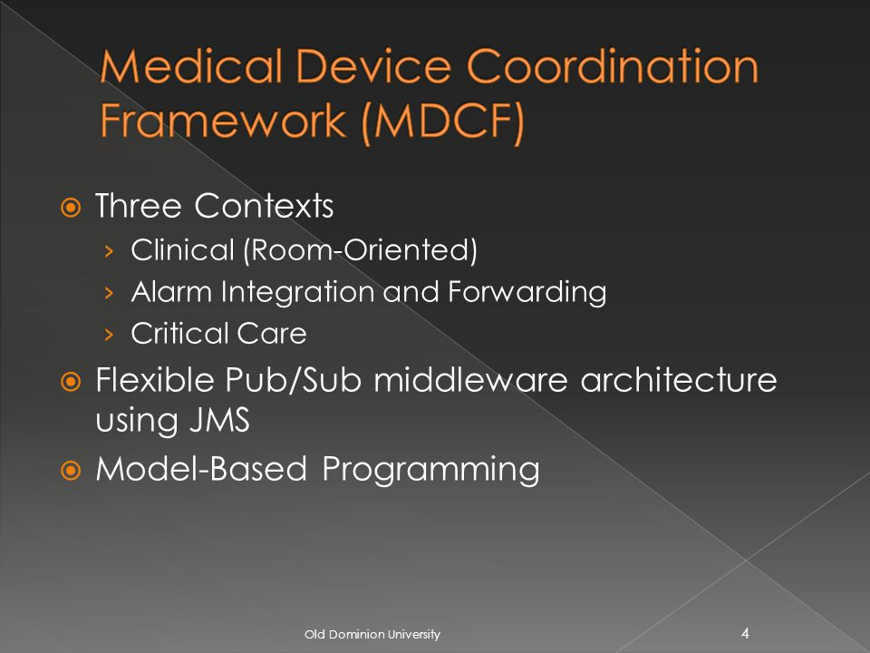 Three Contexts Clinical (Room-Oriented) Alarm Integration and Forwarding Critical Care Flexible Pub/Sub middleware architecture using JMS Model-Based