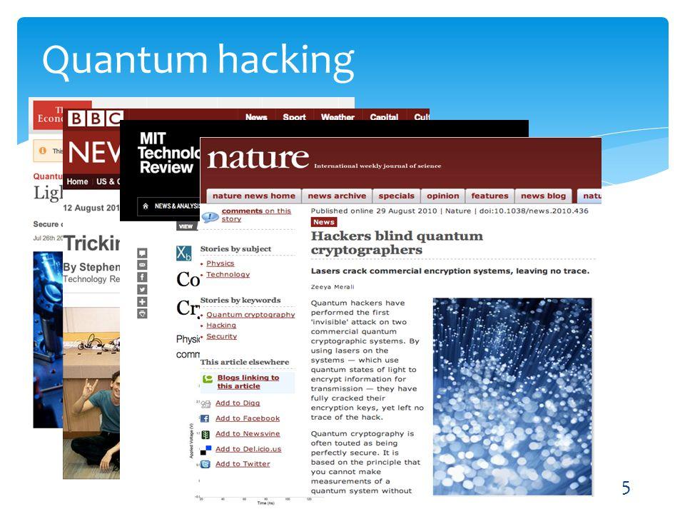 5 Quantum hacking