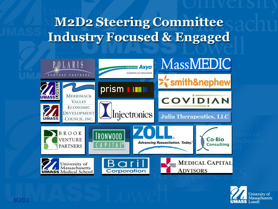 Worcester M2D2 M2D2 Steering Committee Industry Focused & Engaged