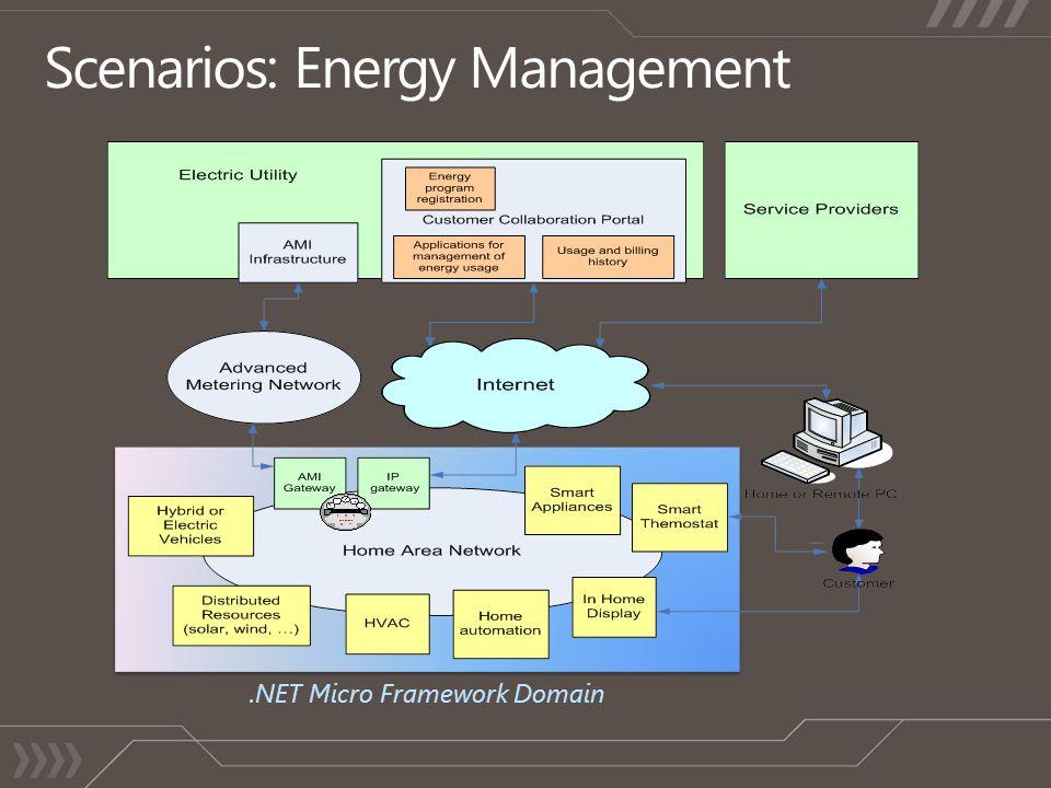 .NET Micro Framework Domain