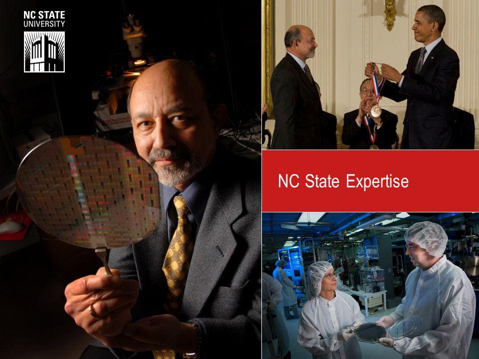 NC State Expertise North Carolina State University © 2014