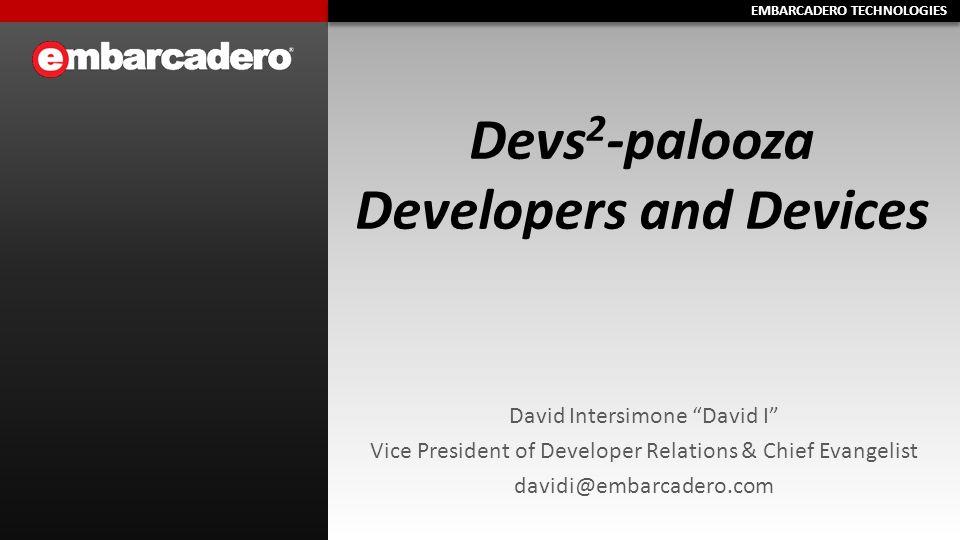 EMBARCADERO TECHNOLOGIES About David I.