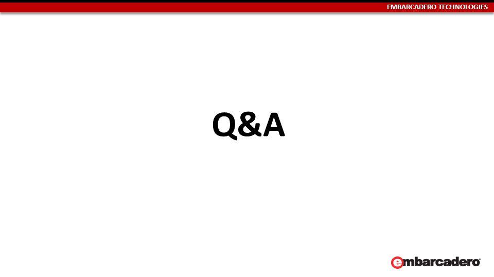 EMBARCADERO TECHNOLOGIES Q&A
