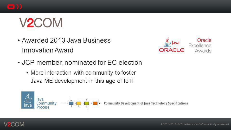 © 2002 - 2013 V2COM - Hardware + Software.