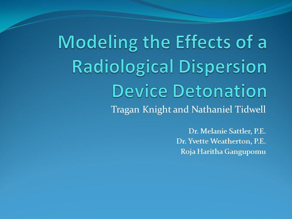 Tragan Knight and Nathaniel Tidwell Dr. Melanie Sattler, P.E. Dr. Yvette Weatherton, P.E. Roja Haritha Gangupomu
