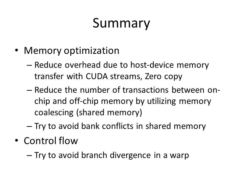 References http://docs.nvidia.com/cuda/cuda-c- programming-guide/ http://docs.nvidia.com/cuda/cuda-c- programming-guide/ http://docs.nvidia.com/cuda/cuda-c-best- practices-guide/ http://docs.nvidia.com/cuda/cuda-c-best- practices-guide/ http://www.developer.nvidia.com/cuda- toolkit http://www.developer.nvidia.com/cuda- toolkit