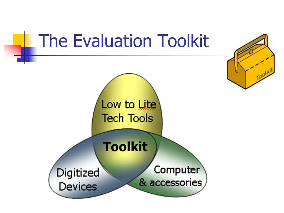The Evaluation Toolkit Toolkit