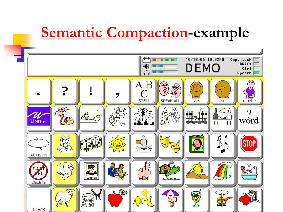 Semantic CompactionSemantic Compaction-example