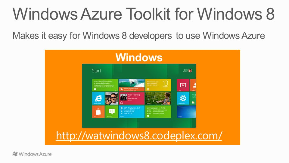 Windows 8 http://watwindows8.codeplex.com/