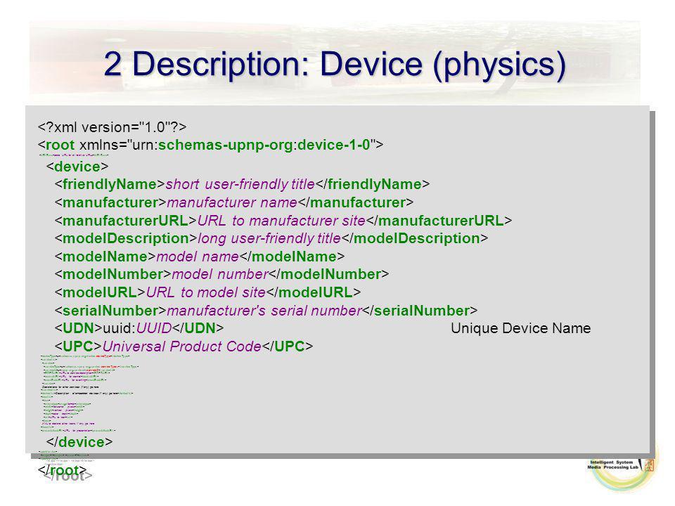 2 Description: Device (physics) base URL for all relative URLs short user-friendly title manufacturer name URL to manufacturer site long user-friendly