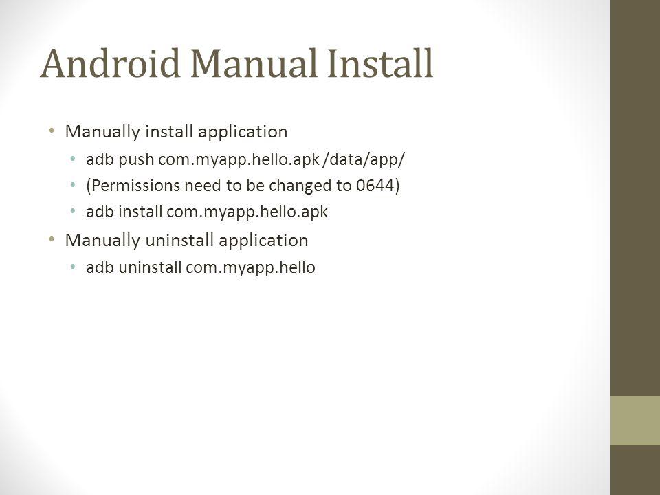Malicious App 2: Photo/Sdcard DEMO