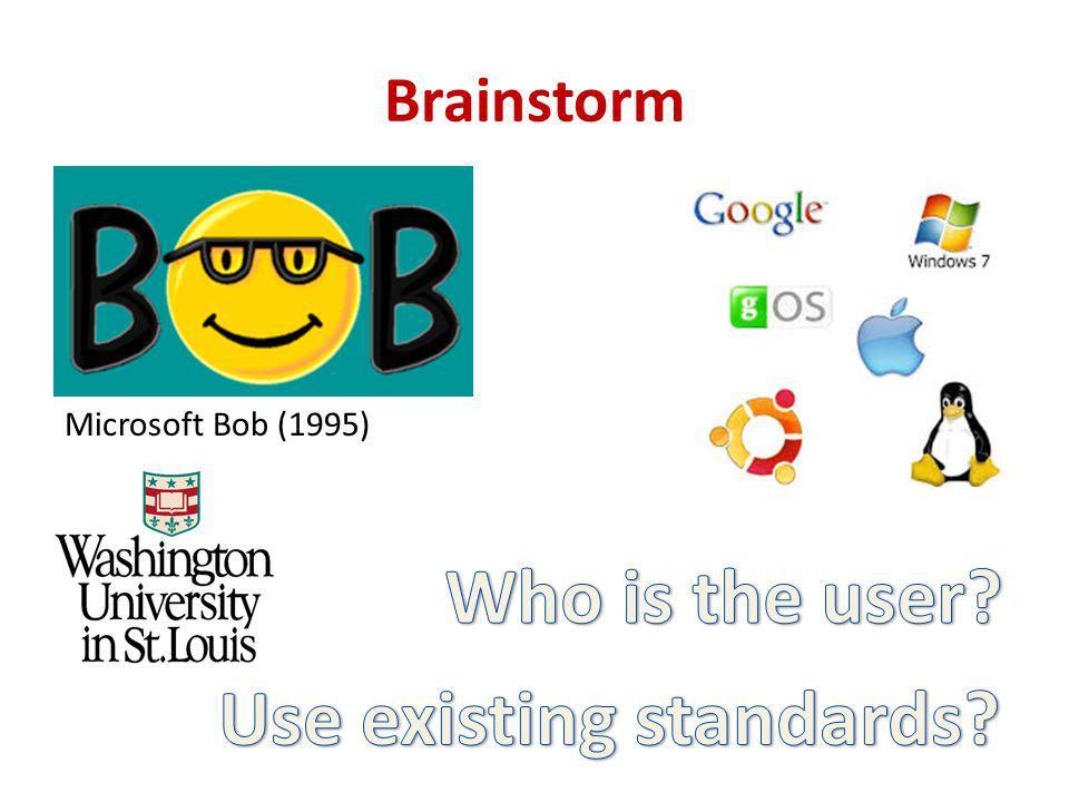 Brainstorm Microsoft Bob (1995)