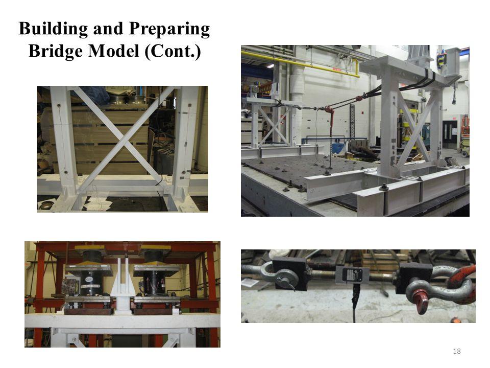 Building and Preparing Bridge Model (Cont.) 18