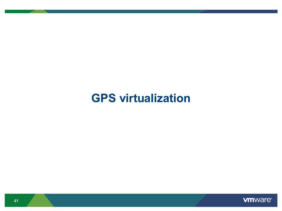 41 GPS virtualization