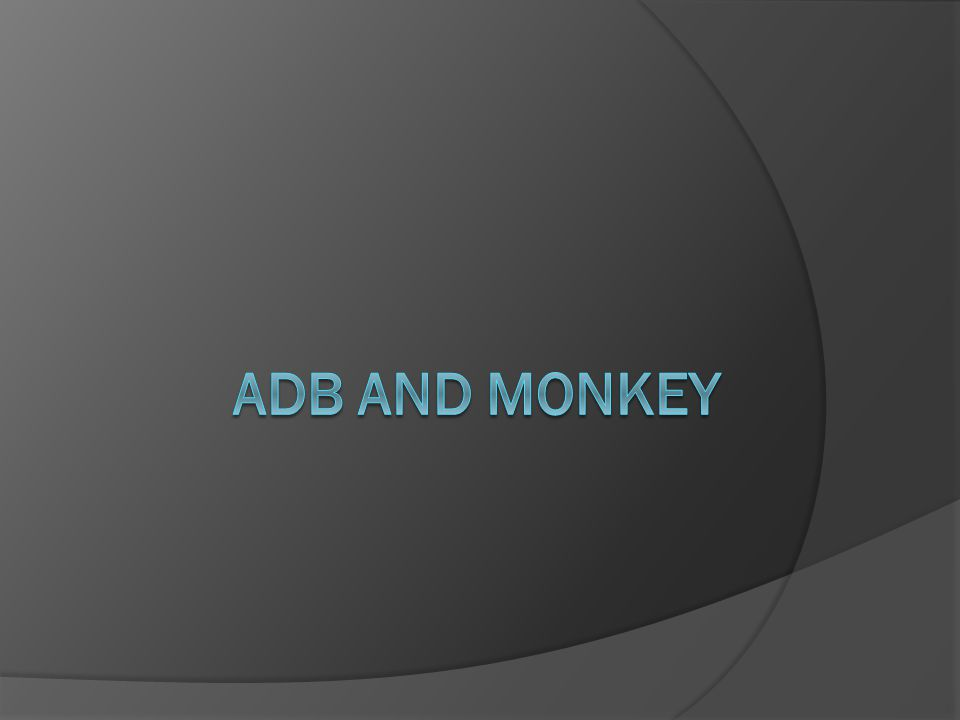 Basic Use of Monkey Launch the Monkey using a command line on your development machine or from a script The basic syntax is a more typical command line