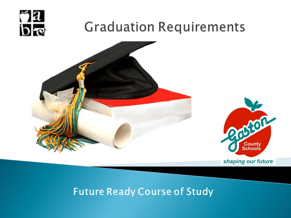 Future Ready Course of Study