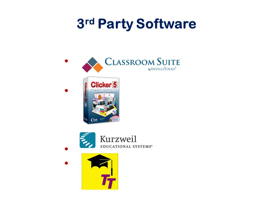 3 rd Party Software