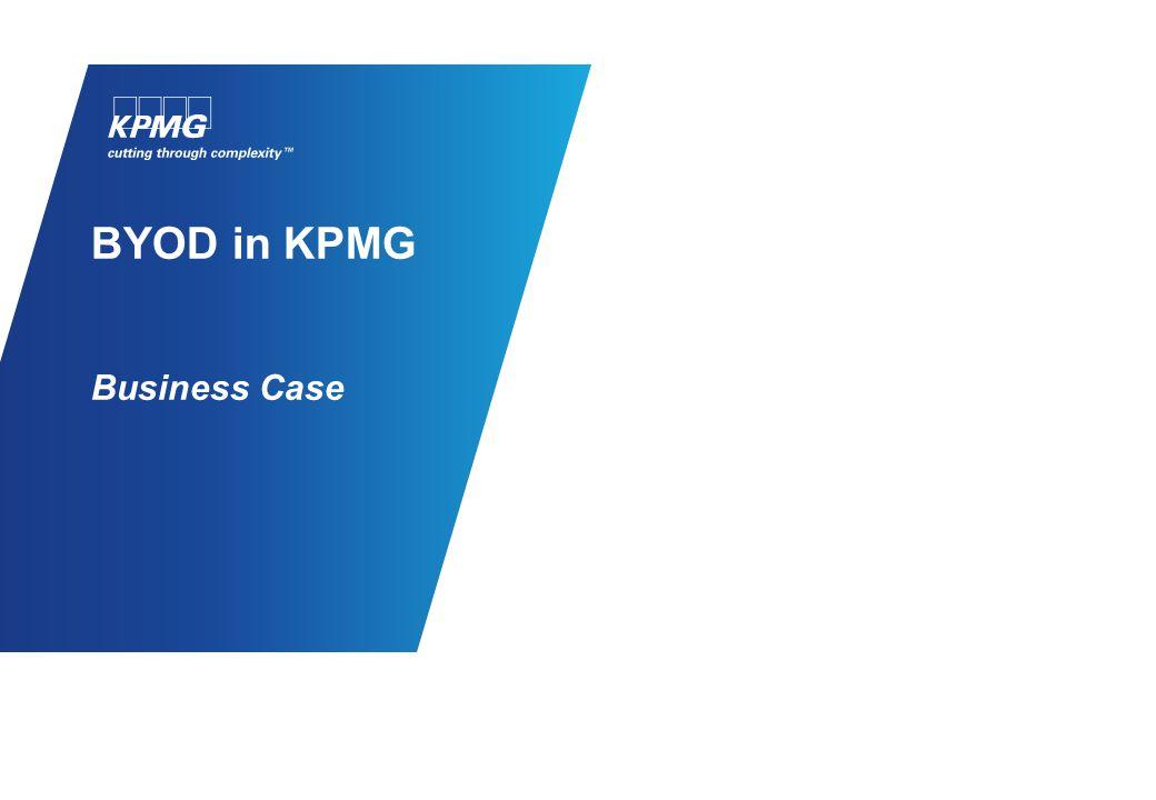 BYOD in KPMG Business Case