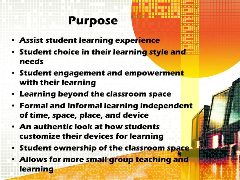 STUDENT RESPONSIBILITIES Use of device is determined by the teacher Students should only use device for the purpose of the activity put forth (for example, research) If device is being used for other reasons (games, not an educational purpose) it can be taken away While communicating on educational Internet sites, students must treat everyone with respect; just like in a classroom setting (digital citizenship will be discussed in class) Students are responsible for his/her own device Students should have devices charged and ready to use