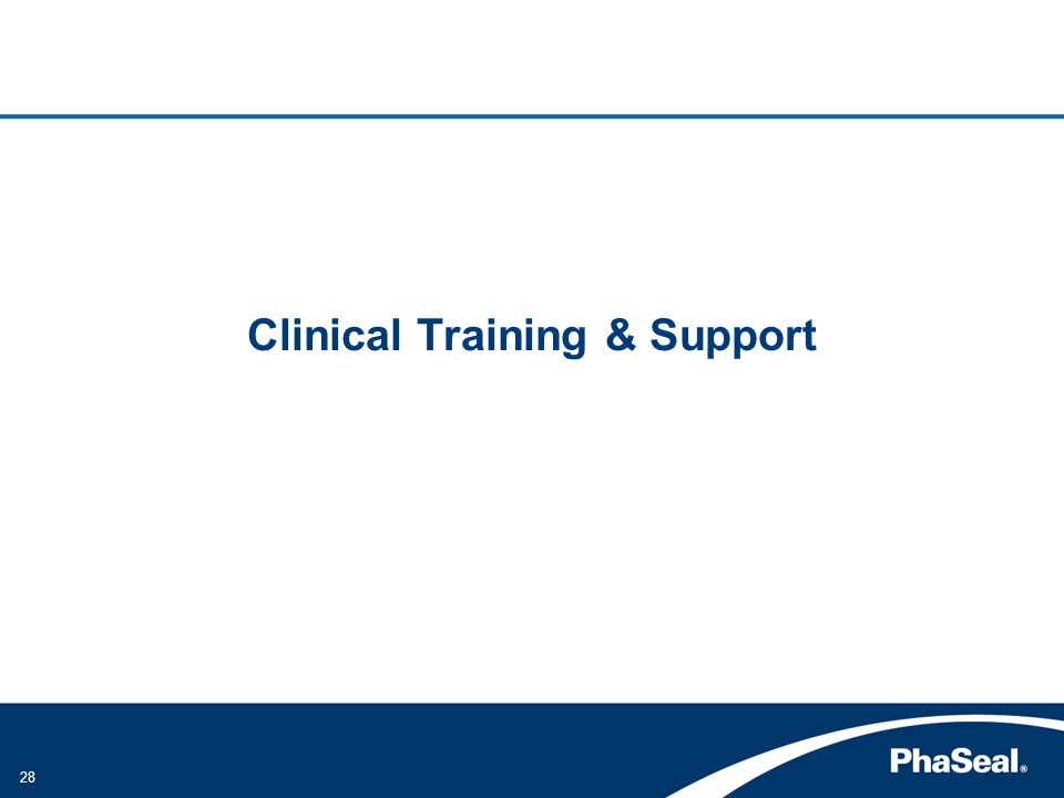 28 Clinical Training & Support