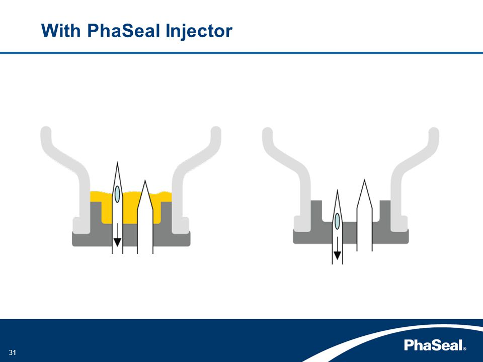 31 With PhaSeal Injector