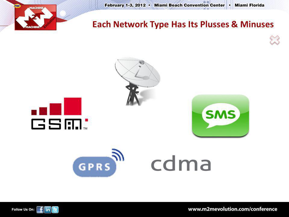 Each Network Type Has Its Plusses & Minuses