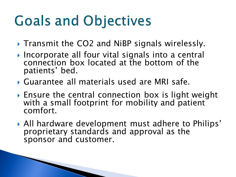 Transmit the CO2 and NiBP signals wirelessly. Incorporate all four vital signals into a central connection box located at the bottom of the patients b
