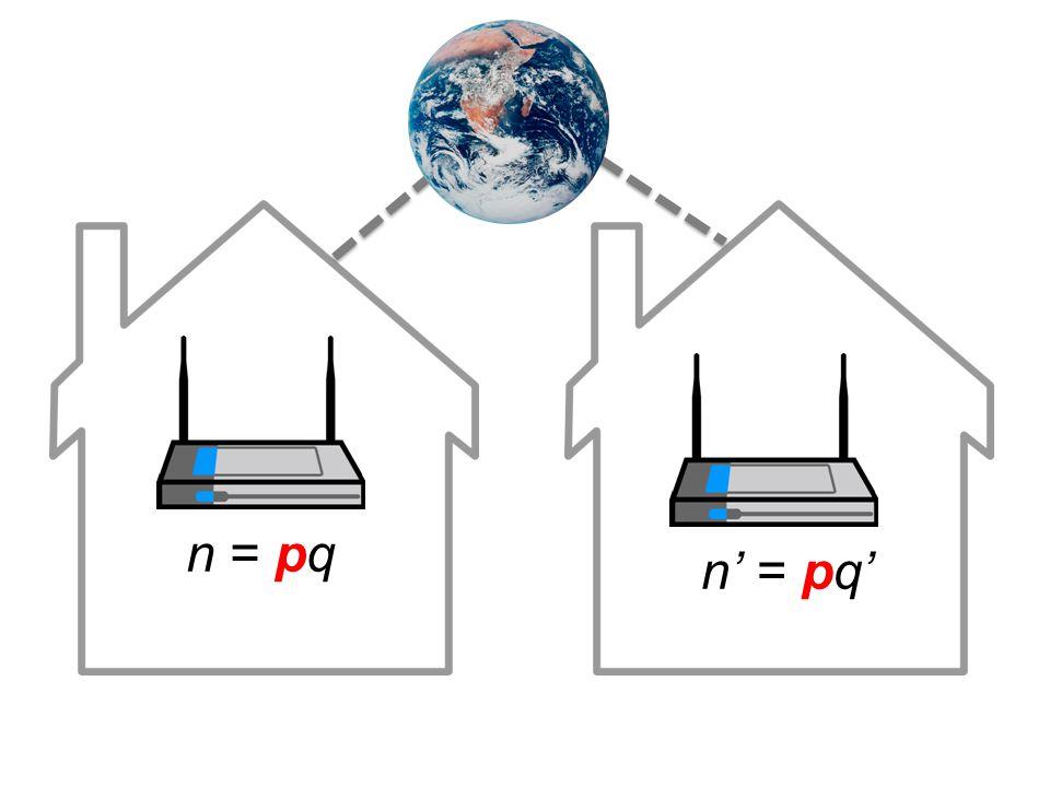 [Heninger et al.USENIX Sec 12] [Lenstra et al.