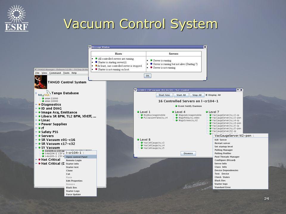 24 Vacuum Control System