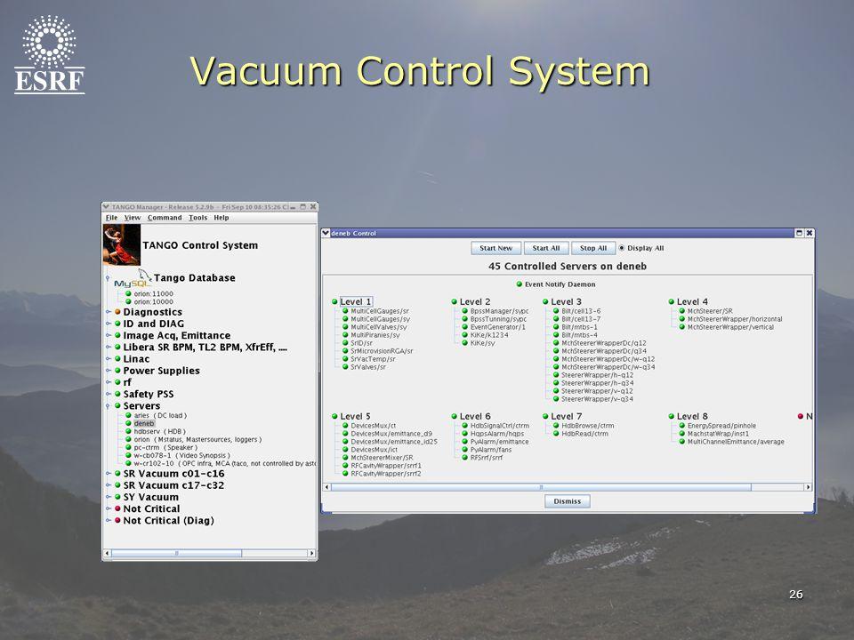 26 Vacuum Control System