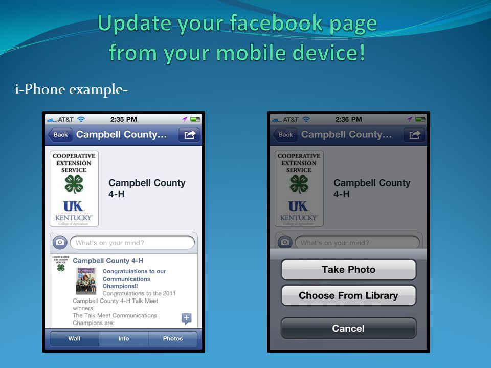 i-Phone example-