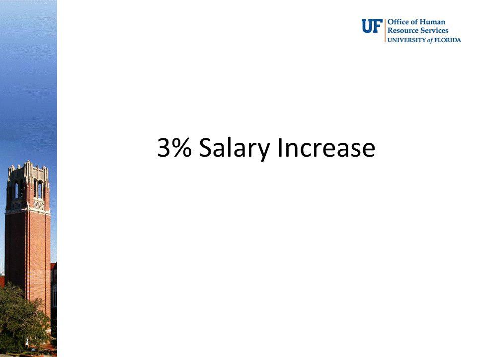 3% Salary Increase
