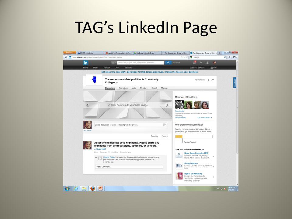 TAGs LinkedIn Page