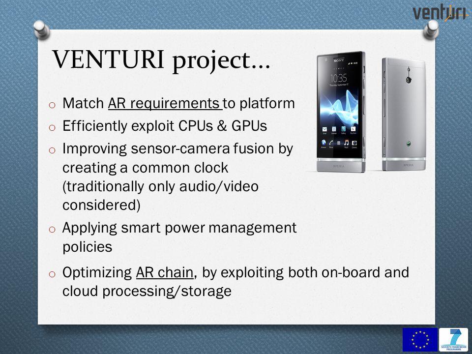 VENTURI project...
