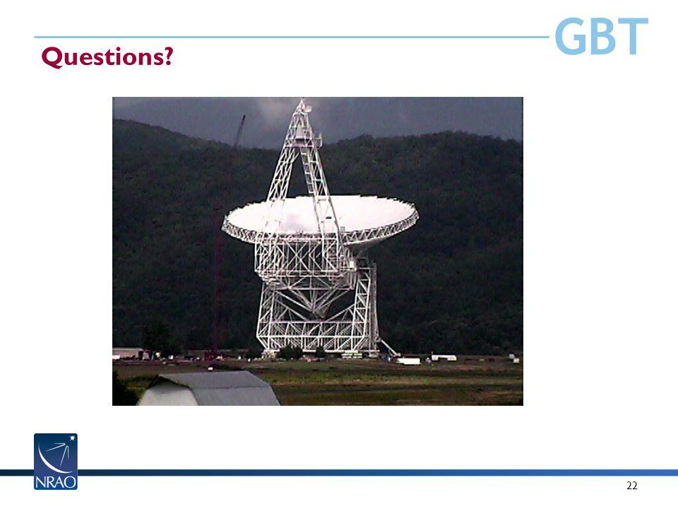 GBT 22 Questions