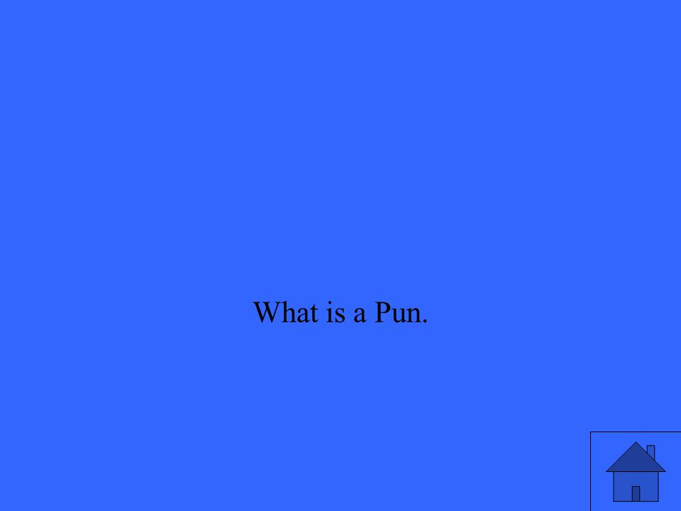 What is a Pun.