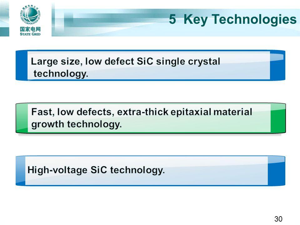 5 Key Technologies 30