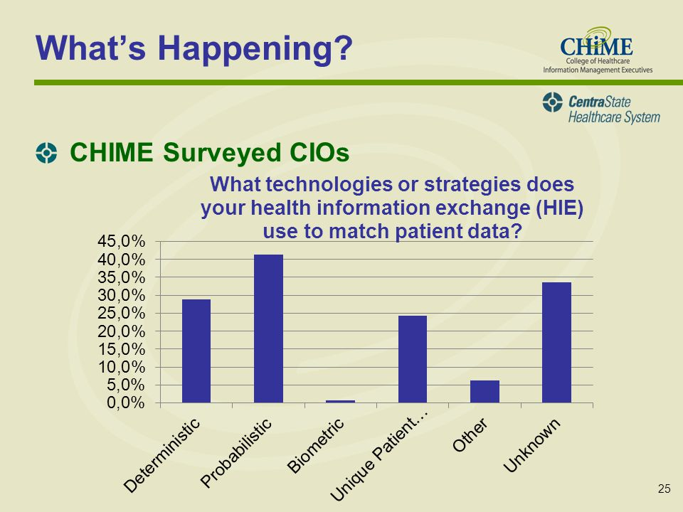 25 Whats Happening CHIME Surveyed CIOs