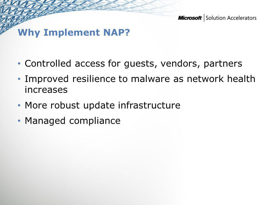 Why Implement NAP.
